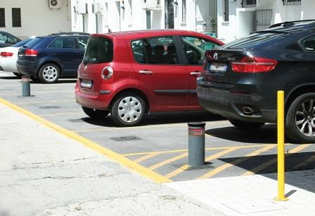 Bornes escamotables VIGILO 2250 pour places d eparking